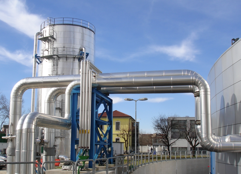 Hot water storage tank of A2A, Milan